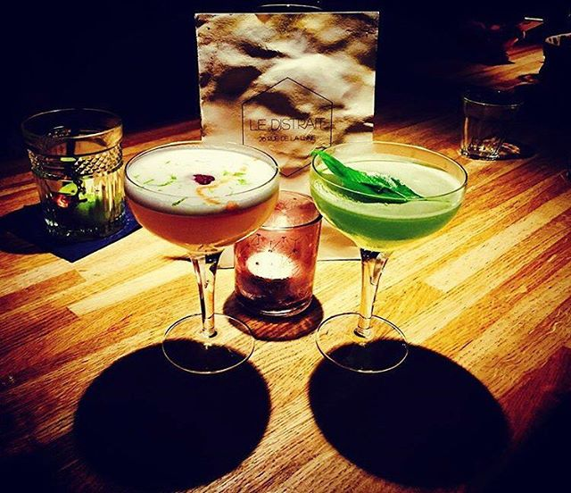 Ils vous attendent à partir de demain soir !_#ledistrait #cocktails #cocktailmaison #rhum #basilic #
