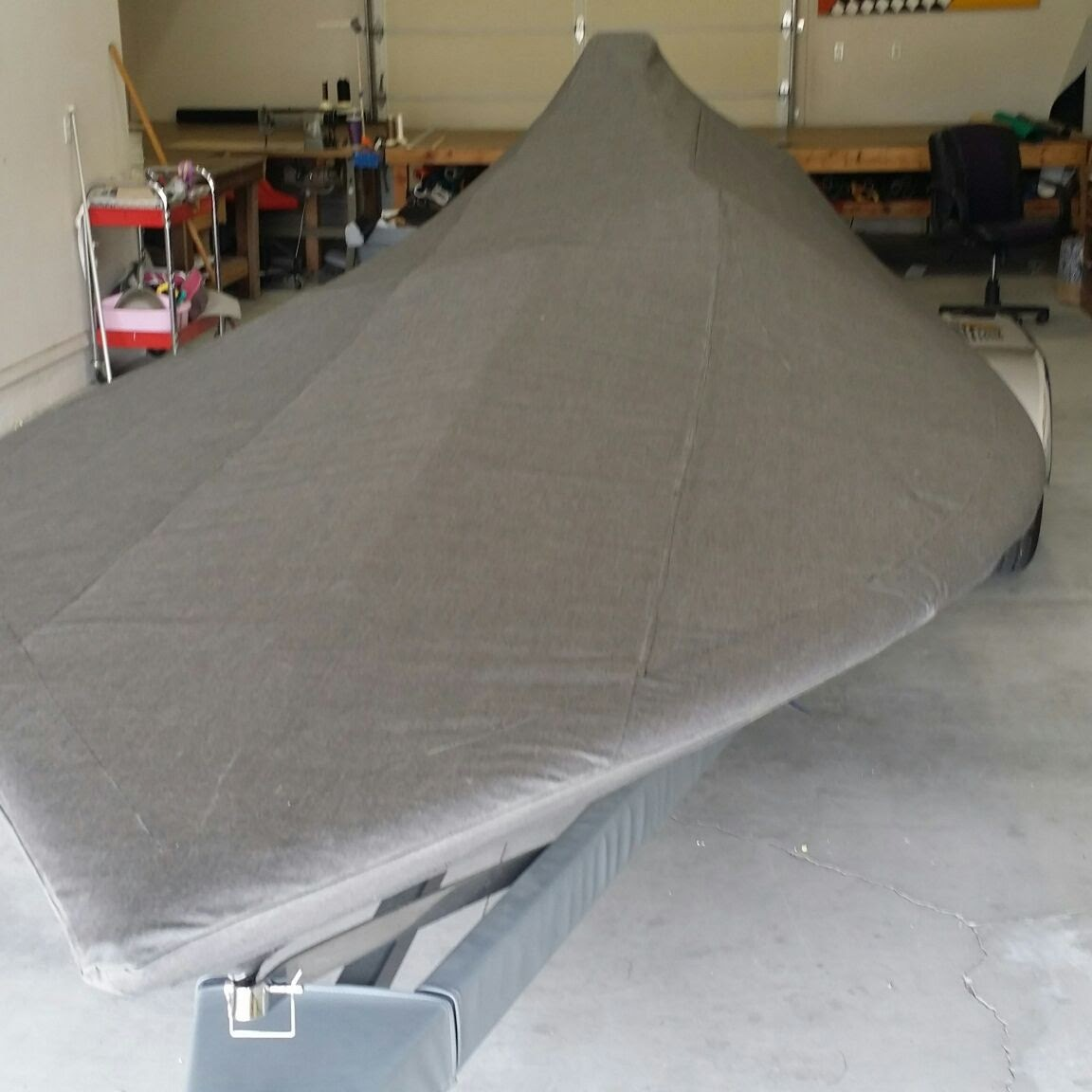 Flat Bottom Towing Boat Cover