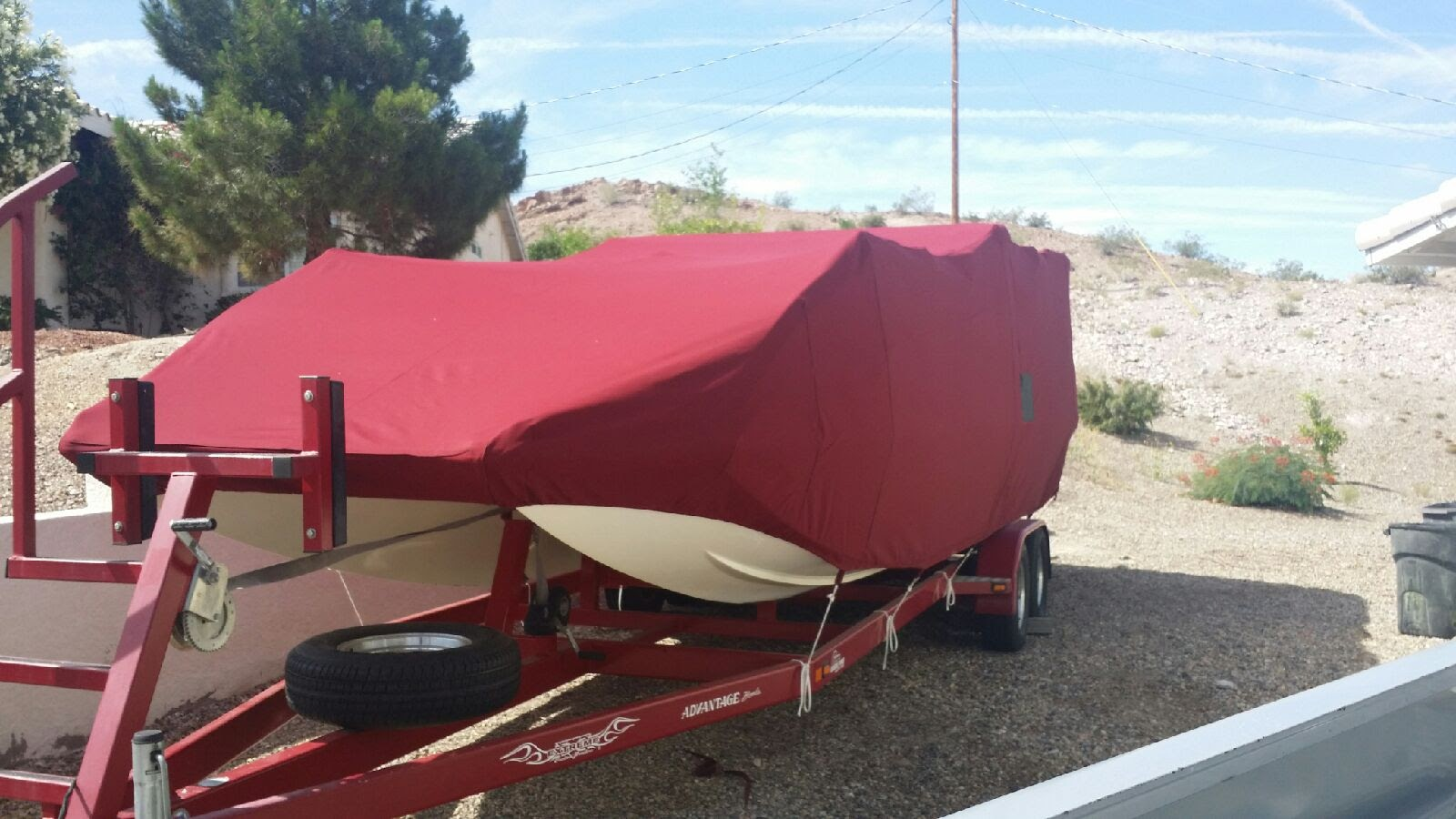 Full Storage Boat Cover