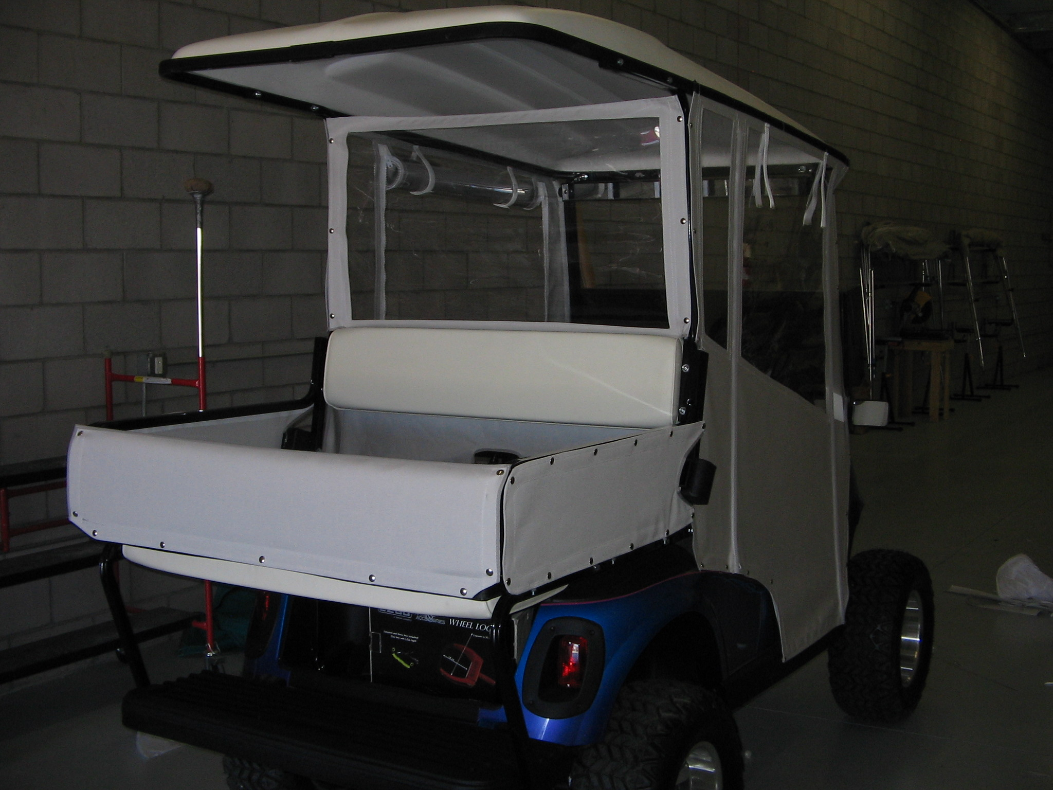 Truck Bed Golf Cart Enclosure