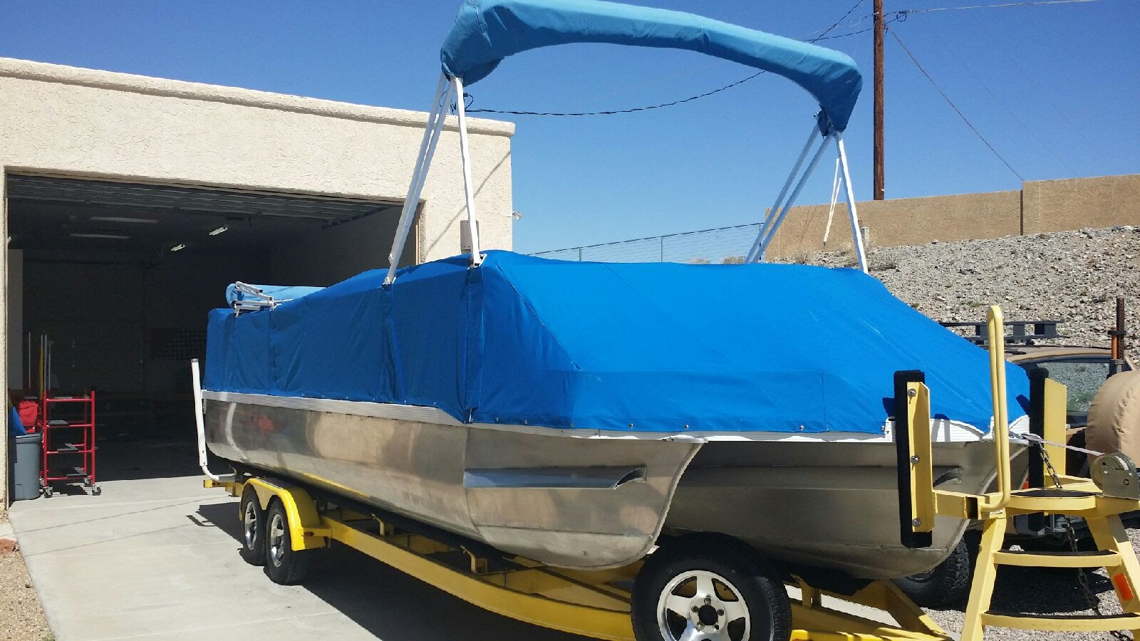 Snap-on Boat Cover