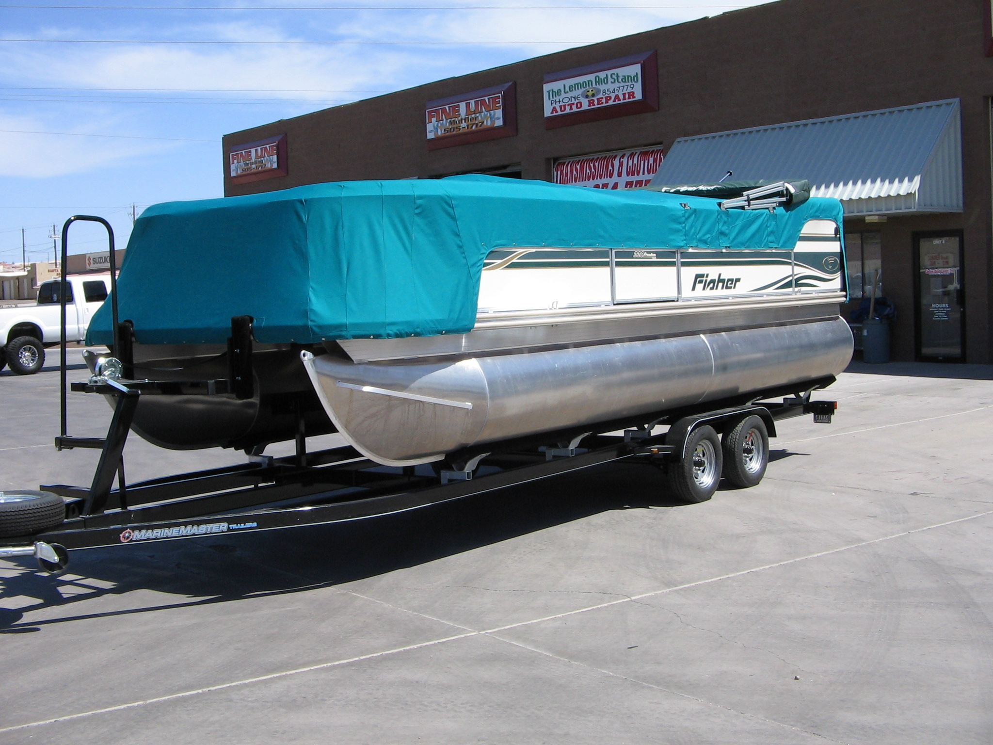 Snap-on Cockpit Boat Cover
