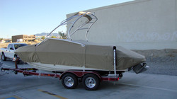 Full Boat Cover w/ Cutouts for Tower