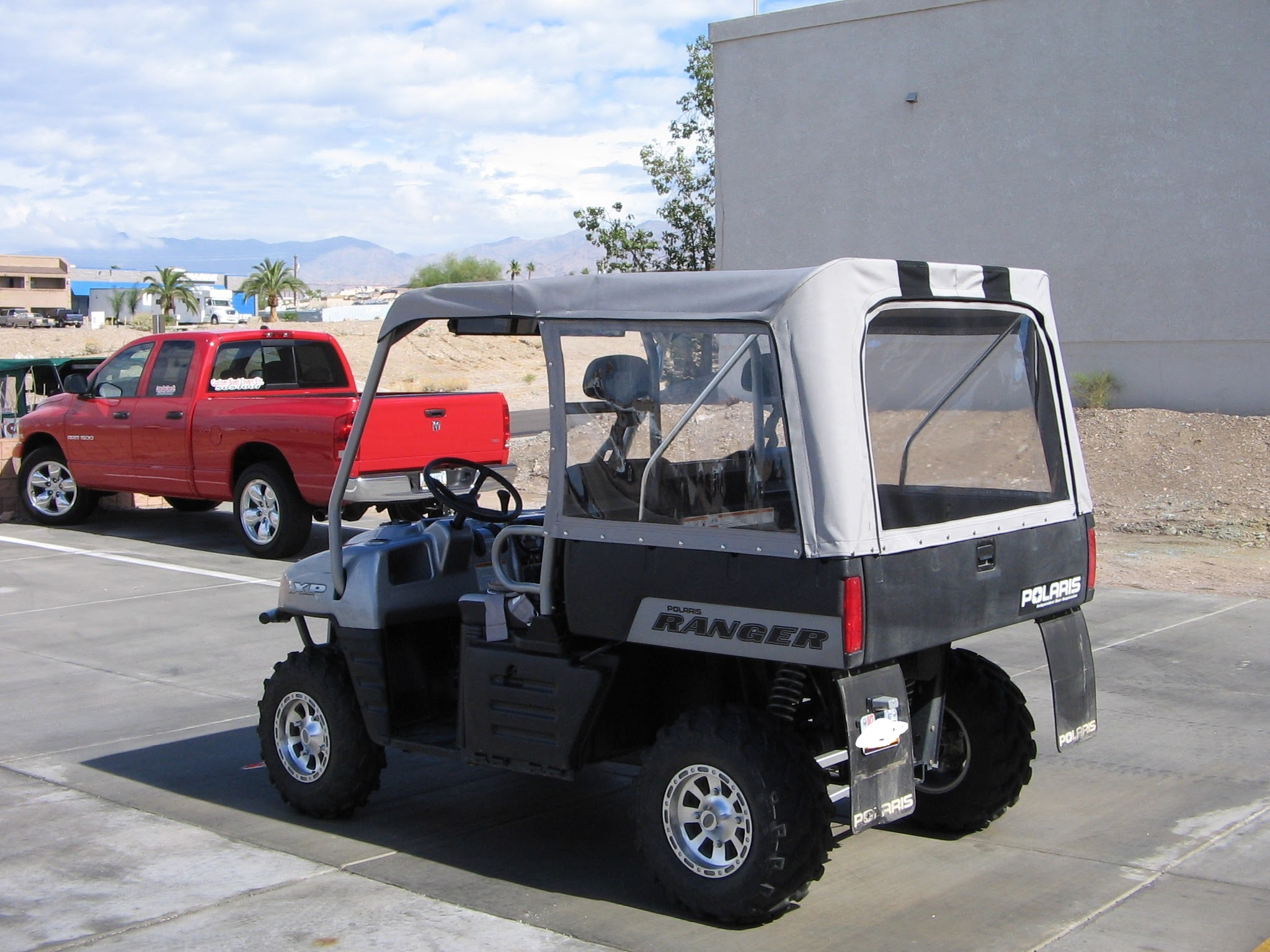 UTV Top and Enclosure