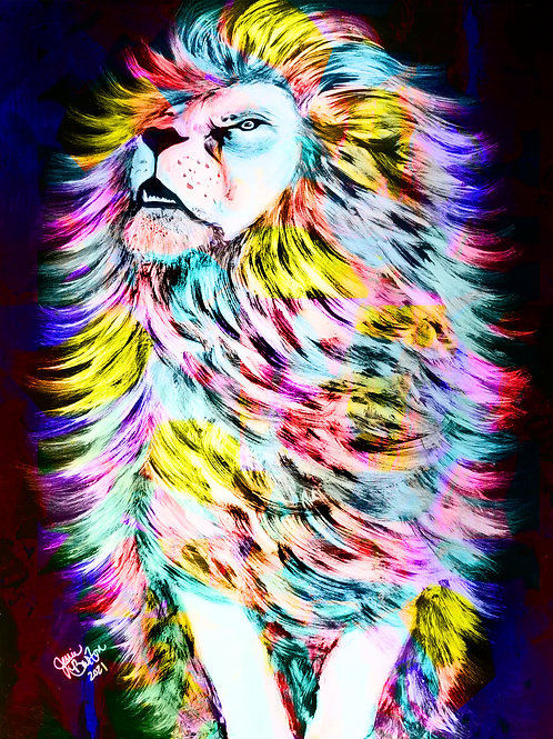 """PRINT_The King_Color_18""""x24"""""""