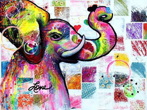 Spunky Elephant