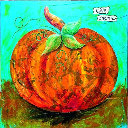 Playful Pumpkin