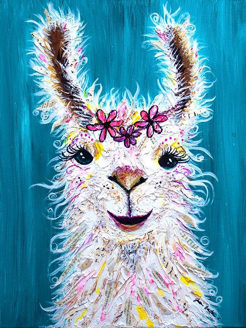Flirty Llama