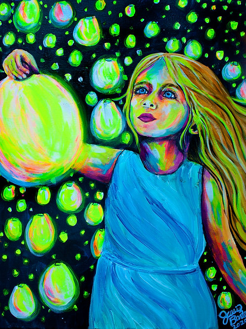 GICLEE CANVAS PRINT of Shine Your Light