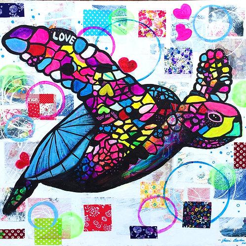 Vibrant Turtle