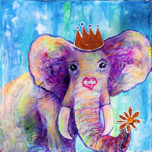 Believe Elephant