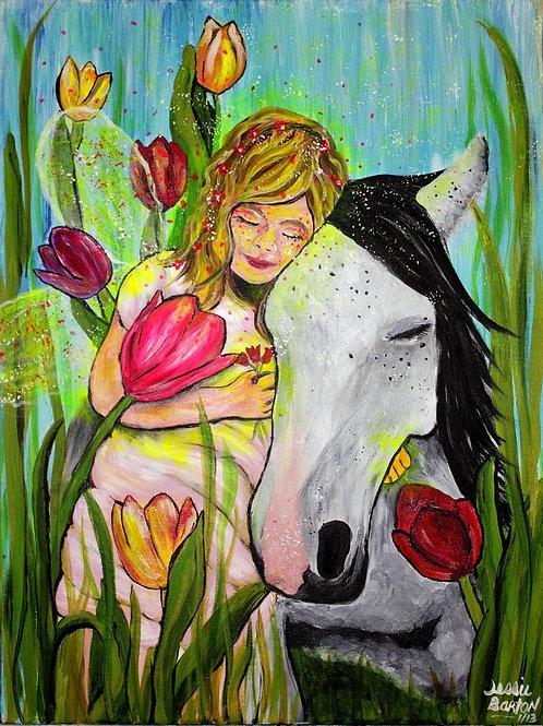 Fairy & Horse