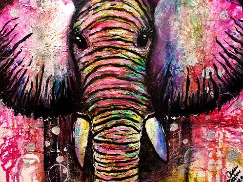 Baby boho elephant