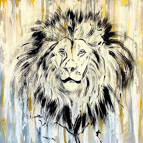 Lion Sketch_CANVAS PRINT