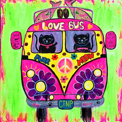Cat Love Bus