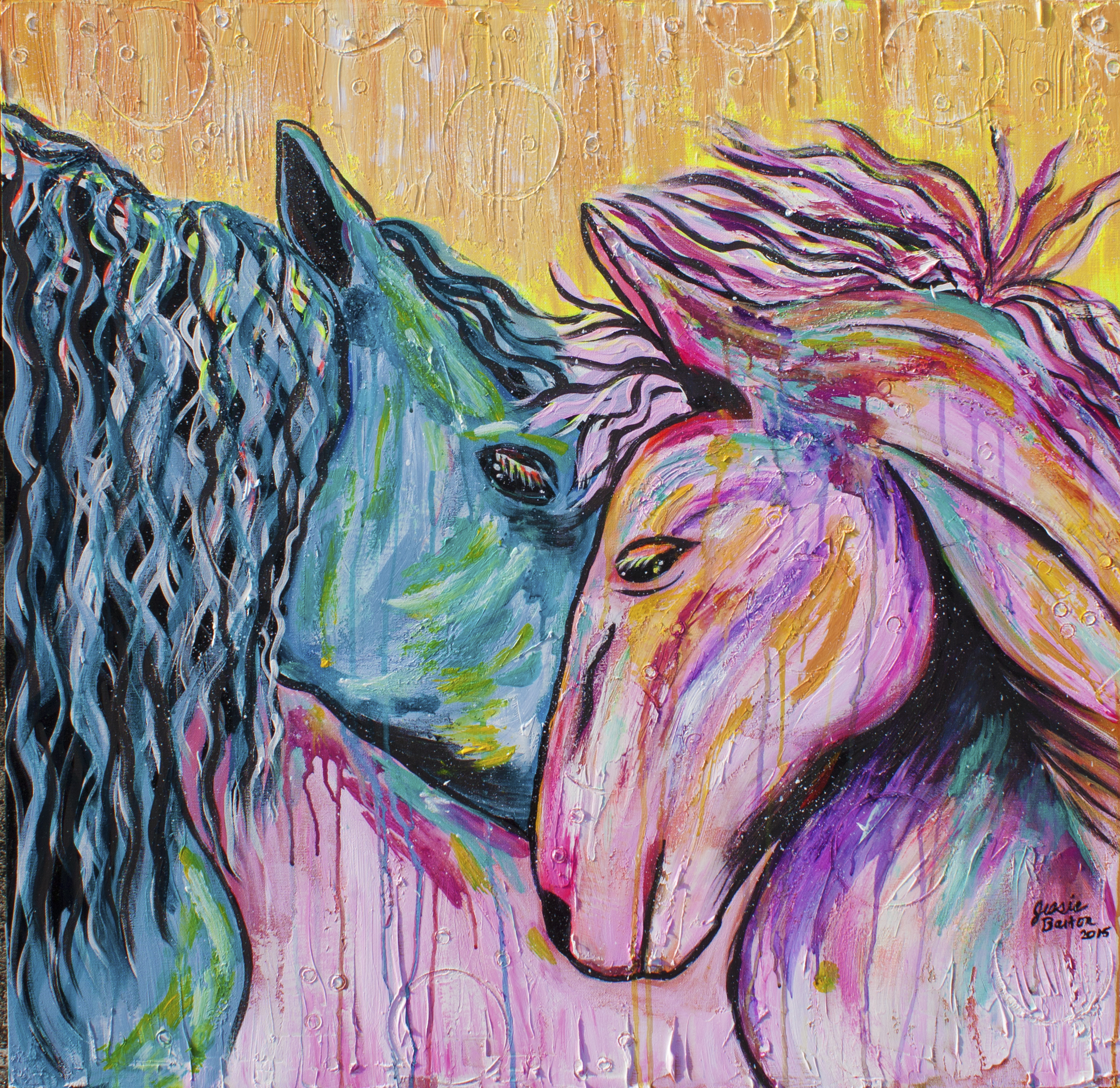 HorsesPainting