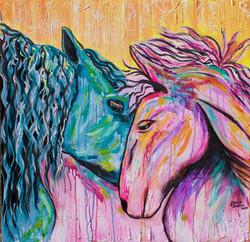 HorsesPainting