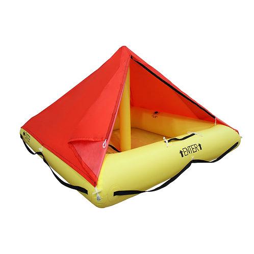 NON TSO 4 Person Life Raft with Canopy