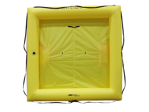 NON TSO 9 Person Life Raft with Deluxe Survival Kit