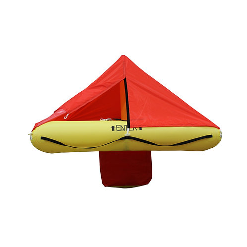 TSO 4 Person Life Raft with FAR 135 Survival Kit