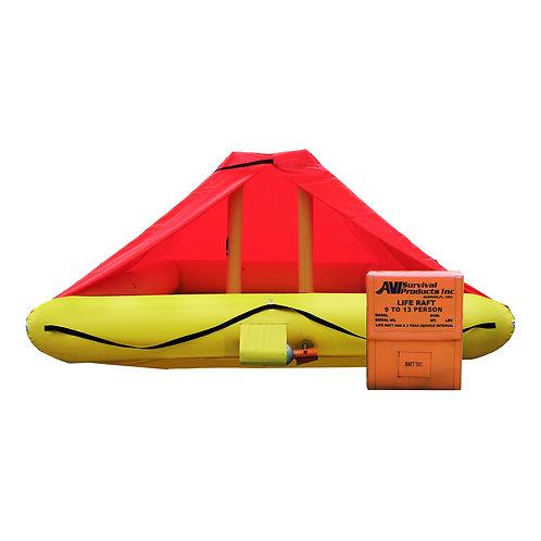 NON TSO 9 Person Life Raft with Canopy
