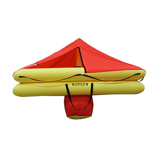 TSO 6 Person Endpack Life Raft with FAR 135 Survival Kit