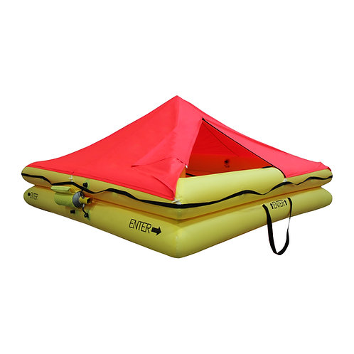 TSO 12 Person Life Raft with FAR 91Survival Equipment Kit