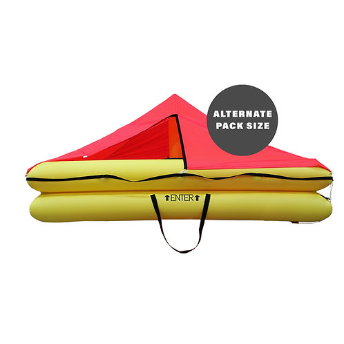 TSO 10 Person Endpack Life Raft with FAR 91 Survival Equipment Kit