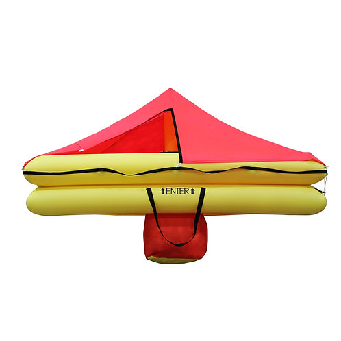 TSO 12 Person Endpack Life Raft with FAR 135 Survival Equipment Kit