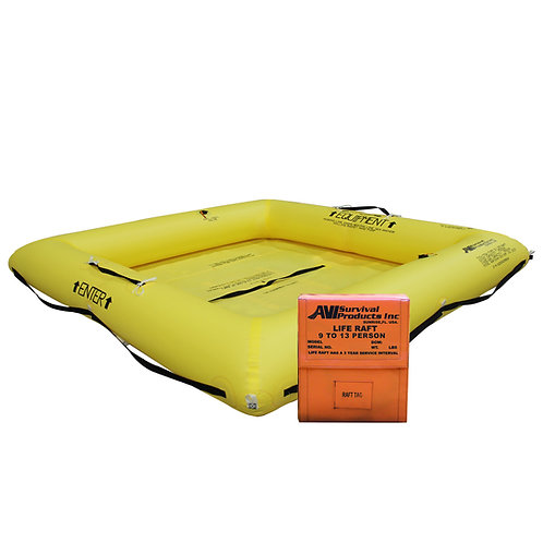 NON TSO 9 Person Life Raft