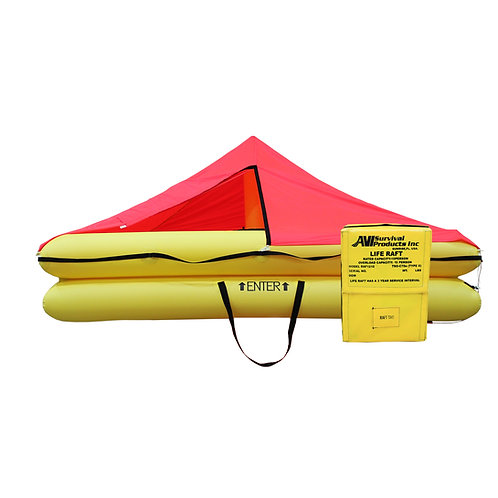 TSO 10 Person Life Raft with FAR 121 Survival Equipment Kit