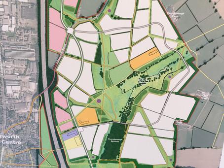 Lutterworth East - the plan...