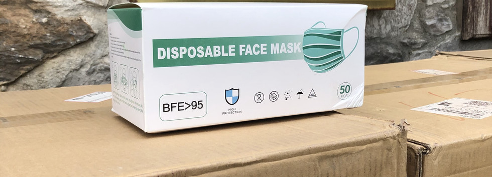 Our masks passed UK Trading Standard and are safe for professional use.
