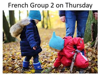 French Group 2 on Thursdays