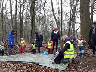 WE STARTED! Today we had a wonderful first day of Forest School, blessed by rain, smiles and nature!