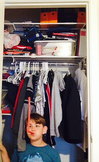 kid closet before picture
