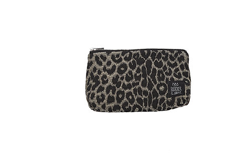 LEOPARD BLACK wallet