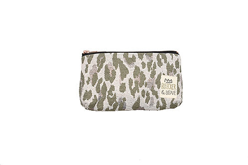 LEOPARD CAMOUFLAGE wallet