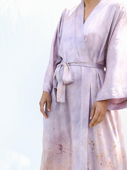 Botanically Dyed Silk Kimono n.09 'Primavera'