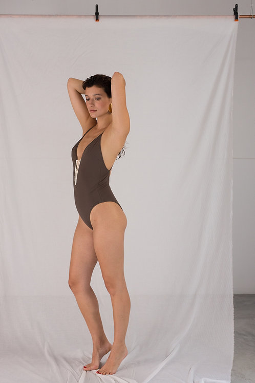 Blanca One Piece -Taupe
