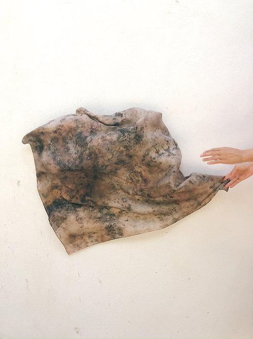 Botanically Dyed Silk Scarf n. 05/08