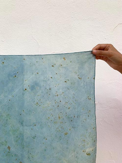 Botanically Dyed Silk Kerchief n.07 'Summer'