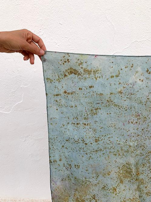 Botanically Dyed Silk Kerchief n.09 'Summer'