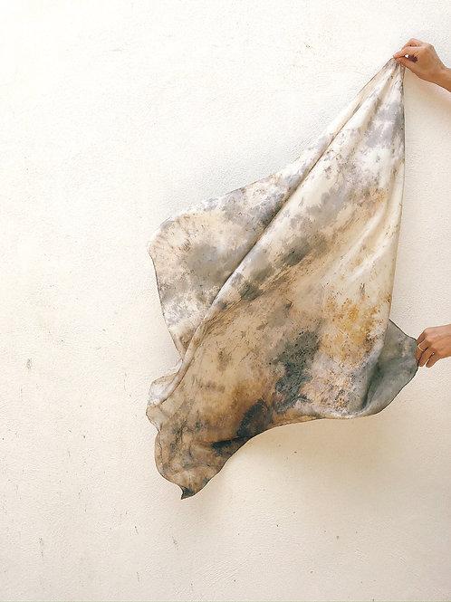 Botanically Dyed Silk Scarf n. 01/08