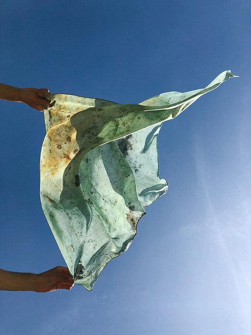 Botanically Dyed Silk Scarf n.03 'Primavera'