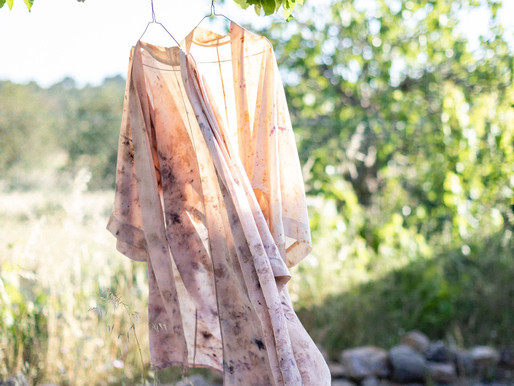BOTANICALLY DYED SILK: WEARABLES & WORKSHOPS