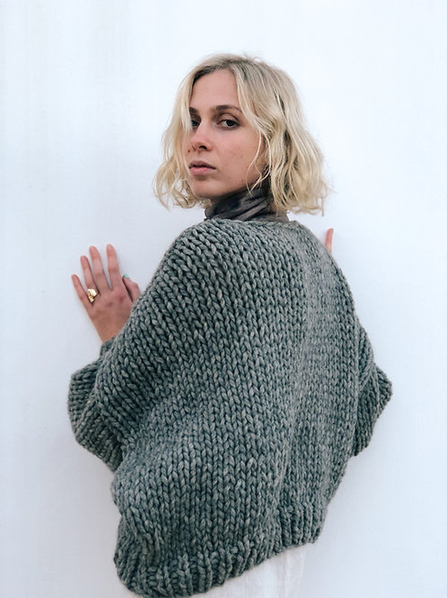 Hand Knitted Caterina Wool Sweater