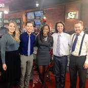 Spreading holiday cheer with The Current Quartet on CP24.