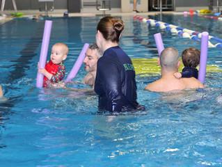 Blue Fin's Pre-School Aquatics Program - Water Babies, Tots and Beginners