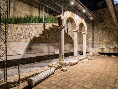 """Vroegchristelijke basiliek op archeologische locatie """"Manchevci"""""""